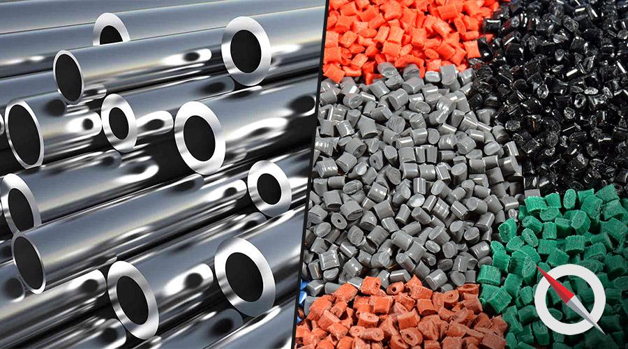 As vantagens e desvantagens da substituição de metal para plástico